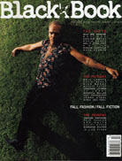 Billy Bob Thornton Black Book Magazine All Tomorrow's Parties Chauncey Hollingsworth