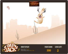 Jump'n Jack game designed by Zephyr Syndicate Chauncey Hollingsworth